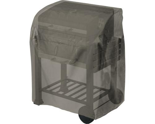 Housse de protection pour chariot de barbecue Tepro ovale 48,3x104,1x101,6 cm polyester noir
