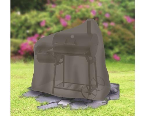 Housse de protection pour Smoker moyen Tepro ovale de 73,7 x 125,7 x 119,4cm