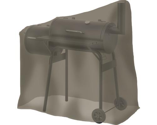 Housse de protection Tepro pour fumoir ovale petit 66,4x114x109,2 cm polyester noir