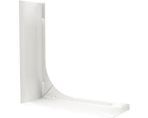 Tablette en métal pour miroir à LED 45012 30cm gris