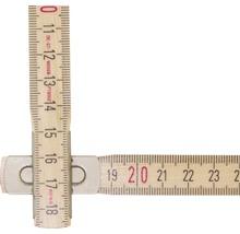 Mètre pliant 2 m blanc-thumb-1
