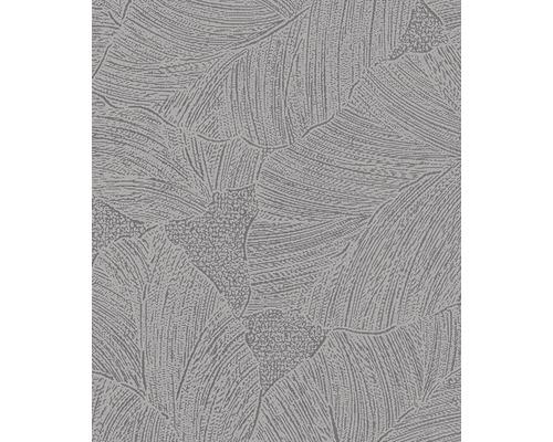 Papier Peint Intisse La Veneziana Iii 57954 Feuilles Gris Hornbach