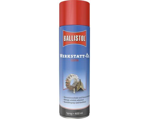 Huile d'atelier spray Ballistol 400ml