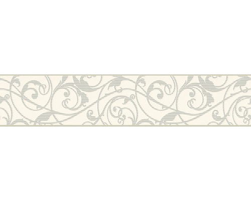 Frise Only Borders 996208-1 ornement blanc 5 m x 13 cm