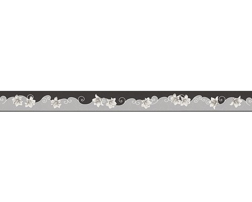 Frise Only Borders 996211-1 noir gris 5 m x 5 cm