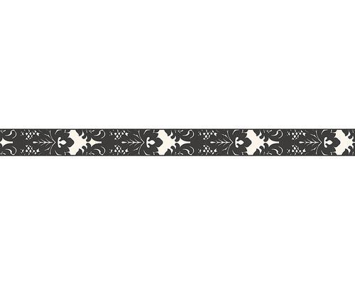 Frise Only Borders 996214-1 ornement noir blanc 10 m x 5 cm