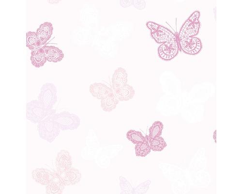 Papier peint intissé Kids@Home 5 100114 Butterfly rose