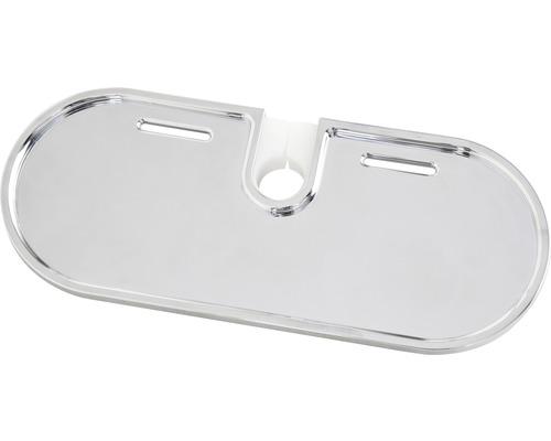 Avital Seifenschale oval chrom für Ø 18, Ø 22 und Ø 25 mm