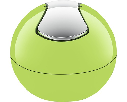 Seau à couvercle basculant Spirella Bowl vert