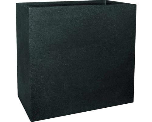 Cloison geli Kubus plastique 60x26x60cm anthracite