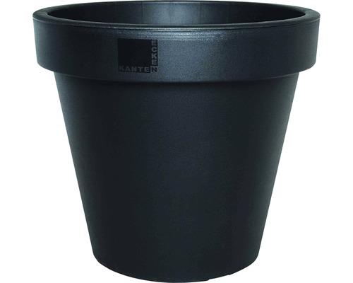 Bac à plantes E&K plastique Ø 60 H 52 cm, anthracite