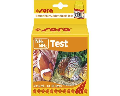 Wassertester sera Ammonium/Ammoniak 3 x 15 ml
