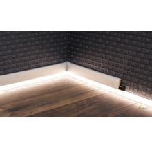 Canal LED pour plinthes à LED opale 22x2500 mm-thumb-0