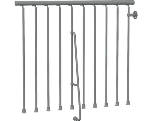 Garde-corps plastique gris fonte pour Pertura Kalika/Jola droit L:125 cm