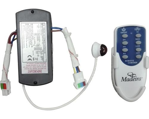 Télécommande pour ventilateur de plafond Madeira