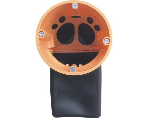 Boîte d''encastrement électrique pour cloison creuse Kaiser flex orange/noir 9268-94