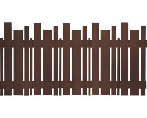 Éléments de clôture Various 180x90 cm brun