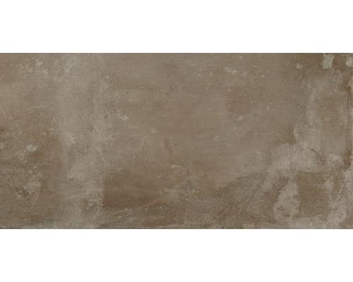 Carrelage pour sol en gr s c rame fin metropolitan brun for Carrelage hornbach