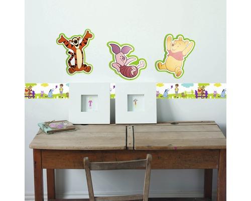 Sticker mural en mousse Winnie l''Ourson 3 pièces