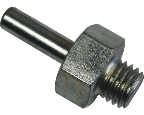 Mandrin de perceuse Kaindl pour disque fibre zirconium M 14