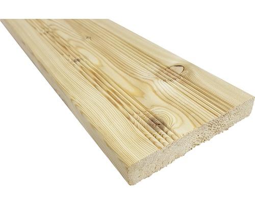 Planche pour terrasse mélèze sibérien brut 24x140x3000mm