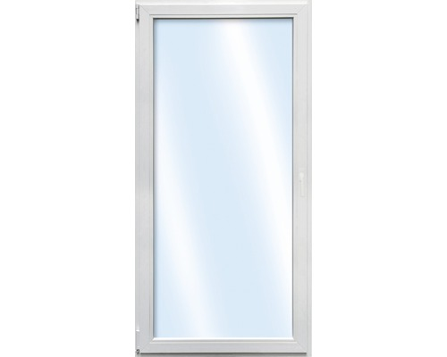 Porte de balcon en plastique ARON Basic blanc 1000x2000mm tirant gauche