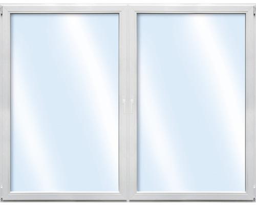 Fenêtre en plastique 2 battants ARON Basic blanc 1500x500 mm