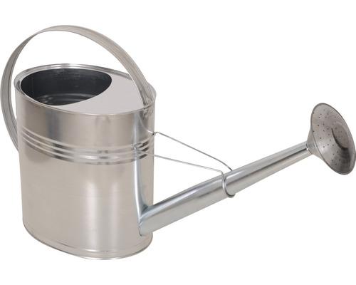 Arrosoir en zinc 10 litres, argent