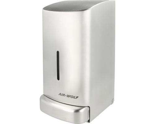 Distributeur de savon AIR-WOLF Gamma II 0,8l acier inoxydable