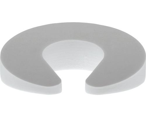 Butoir de porte et de fenêtre Deltafix blanc Ø 95 x H 30 mm