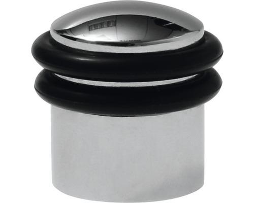 Butoir de porte Deltafix Triton chrome Ø 30 x H 30mm