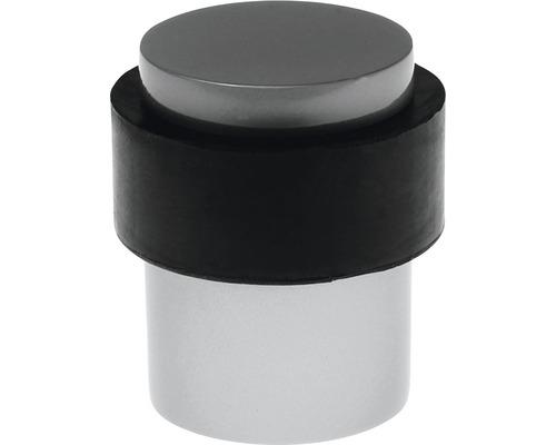 Butoir de porte Deltafix Uranus nickel Ø 35 x H 40mm