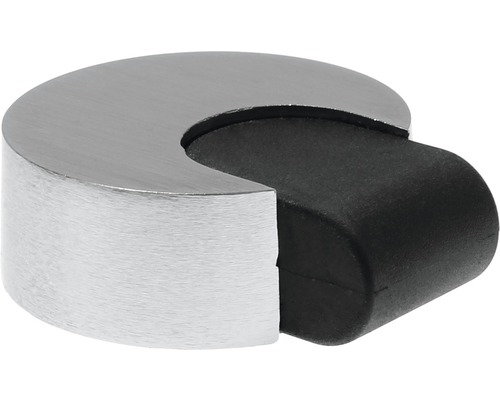 Butoir de porte Deltafix Mars nickel Ø 60 x H 20mm