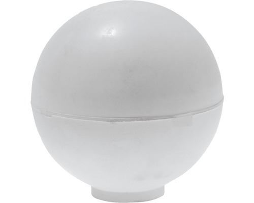 Butoir de porte Deltafix blanc Ø 35 x H 35mm