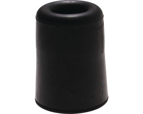 Butoir de porte Deltafix noir Ø 40 x H 50mm