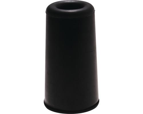 Butoir de porte Deltafix noir Ø 40 x H 75mm