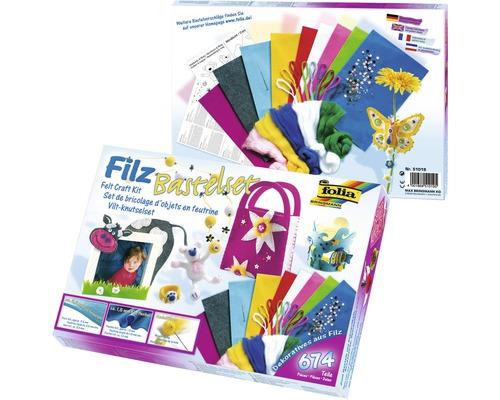 Kit créatif Feutre textile 674 pièces