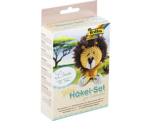 Kit créatif set de crochet lion