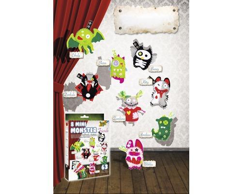 Kit créatif Mini Monster Friends, 8 pièces