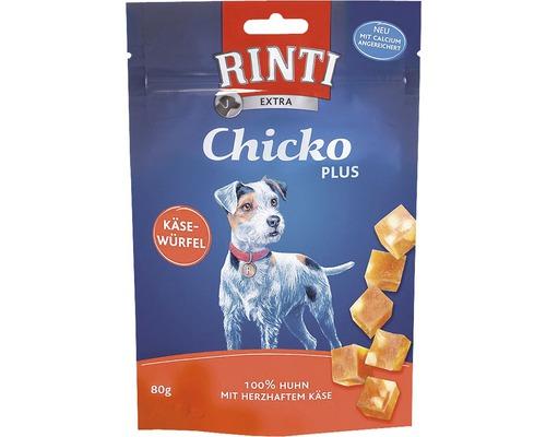 Rinti Chicko Dés de fromage Plus poulet 80 g
