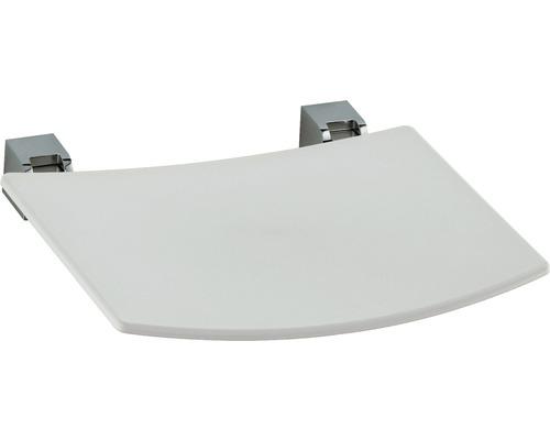 Siège rabattable KEUCO Plan 14980010038 chrome/gris clair