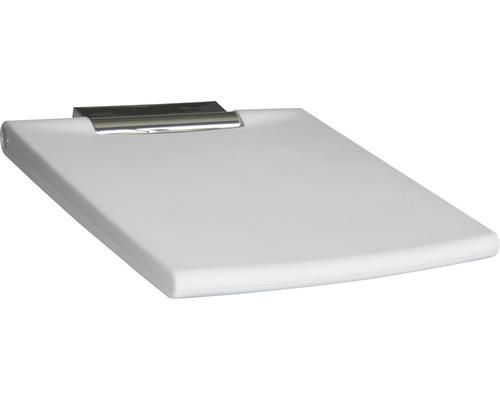 Siège rabattable KEUCO Plan Care sans dossier 45x50 cm chrome/gris clair 34983