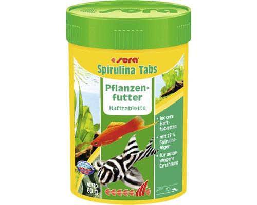 Hafttabletten sera Spirulina Tabs Pflanzenfutter 100 ml