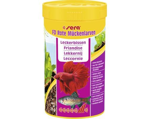 Fischfutter sera FD Rote Mückenlarven Leckerbissen 250 ml