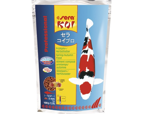 Nourriture printemps/automne sera Koi Professional 1kg