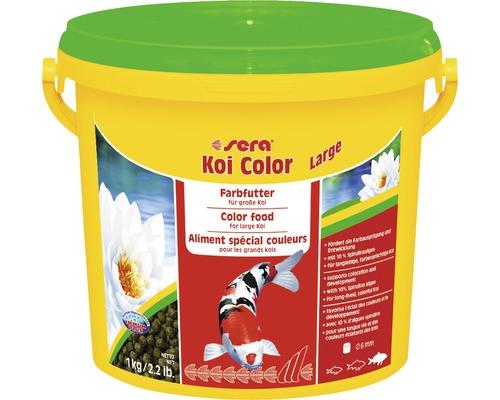 Aliment spécial couleurs pour koïs de grande taille sera Color Large 3,8l