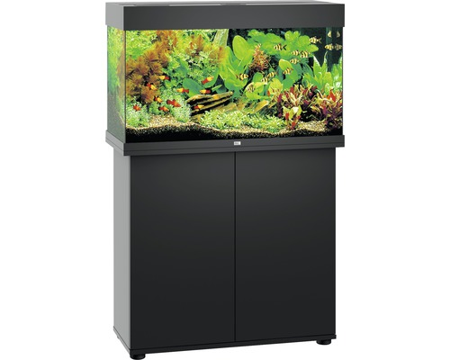 Kit complet d'aquarium Juwel Rio 125 LED SBX noir-0