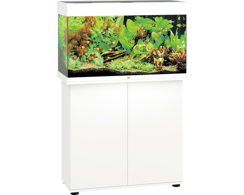 Kit complet d'aquarium Juwel Rio 125 LED SBX blanc-0