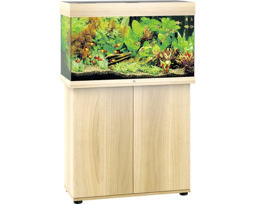 Kit complet d''aquarium Juwel Rio 125 LED SBX bois clair