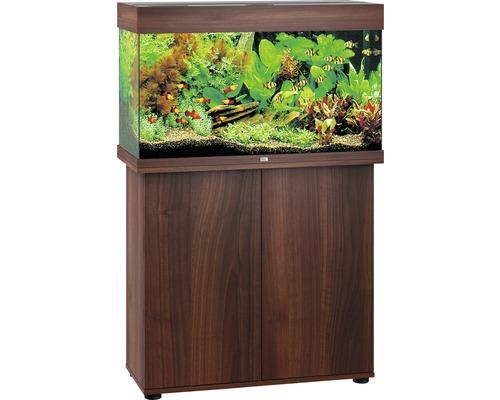 Kit complet d''aquarium Juwel Rio 125 LED SBX bois foncé-0